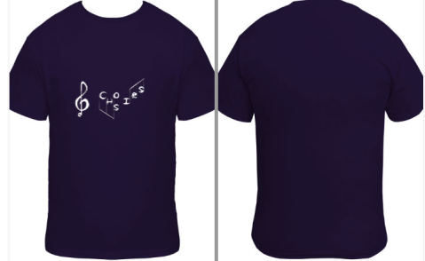 CHS Choirs T-Shirt Proof