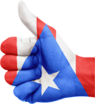puerto-rico-flag thumbs up