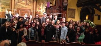 40 CHS Singers with Dr. Ysaye Barnwell!
